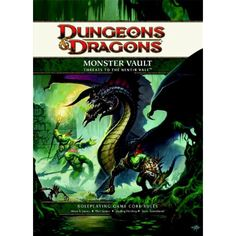 Monster Vault: Threats to the Nentir Vale: A 4th edition Dungeons  #BoardGames