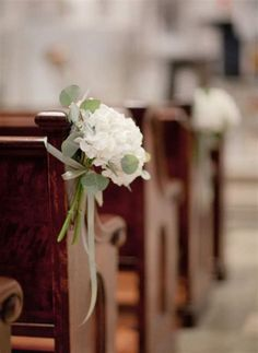 Elegant Church Wedding Decoration