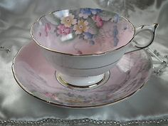 Rare Paragon Pink Fine Bone China Tea Cup & Saucer By Appointment of The Queen