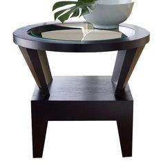 Indulge in the clean lines and classic styling of the Abbyson Living Fairfax End Table
