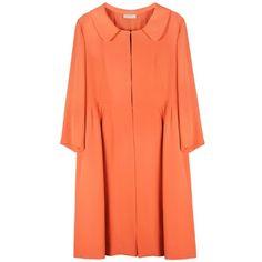 NINA RICCI Half Sleeve Coat ($990) ❤ liked on Polyvore