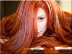 Red hair - my hair was like this after henna