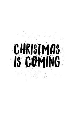 Coque et étui iPhone 'Christmas is coming quote' par Christmas Is Coming Quotes, Its Christmas Eve, Large Christmas Baubles, Christmas Quotes, Christmas Pictures, Christmas Snacks, Christmas Things, Christmas Cross, Holiday Iphone Wallpaper