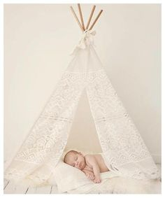 mini lace teepee tent photo prop for my future(not preg) little girl...