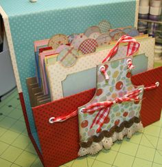 Patterns for Making Boxes | Here's what you will need: (I will have a pattern up later today for ...