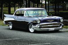 57 Chevy Coupe... I'd like one already restored since I have no idea what I'm doing