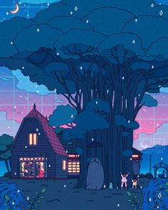 My Neighbor Totoro Wallpaper Animes, Anime Scenery Wallpaper, Disney Wallpaper, Animes Wallpapers, Wallpapers Ipad, Vintage Wallpapers, Cartoon Wallpaper, Wallpaper Quotes, Art Studio Ghibli