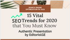 15 Vital SEO Trends for 2020 that You Must Know to Boost Business New Employee, Local Seo, Seo Tips, Search Engine Optimization, Machine Learning, You Must, Stay Tuned, Did You Know, Digital Marketing