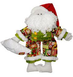 Passo a passo – Noel de pijama