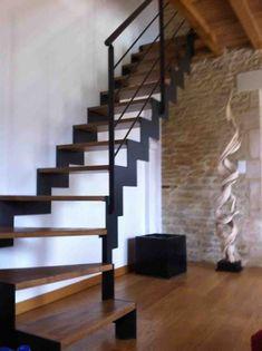 Escalier limon crèmaillere - Nos escaliers design | Escalier Design 14
