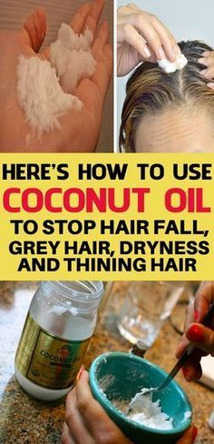 Coconut Oil Uses - . 9 Reasons to Use Coconut Oil Daily Coconut Oil Will Set You Free — and Improve Your Health!Coconut Oil Fuels Your Metabolism! Coconut Oil Uses, Benefits Of Coconut Oil, Coconut Water, Brittle Hair, Going Gray, Prevent Hair Loss, Ivana, Hair Oil, Fall Hair