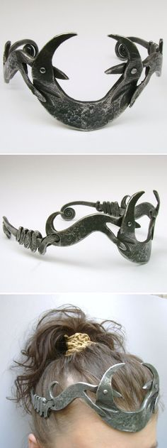 Forged crown  #handmade #blacksmith #art #wroughtiron