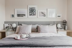 As much as I love dark colours, this home is really beautiful in white and pretty pastels. With...
