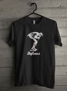 Deftones American Alternative Metal Band Custom Black Tee T-Shirt