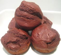 Inspired by Miranda's recipe for Egg Free Muffins , I cooked up a batch for myself adding cocoa to make some classic and much loved chocolate egg free muffins. Egg Free Recipes, Allergy Free Recipes, Milk Recipes, Baking Recipes, Dessert Recipes, Egg Free Muffins, Gluten Free Muffins, Chocolate Muffins, Chocolate Cupcakes