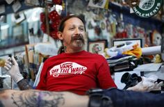 Tattoo fest to show how far Deep Ellum skin artist has come: Dallas' Oliver Peck is a former world-record holder and a judge for Spike TV's Ink Master. My story from Chuah Dallas Morning News. Tom Wolfe, Spike Tv, Dallas Morning News, Record Holder, Ink Master, Vans Off The Wall, American Life, World Records, Different Styles