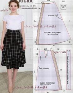 New sewing diy dress circle skirts ideas Sewing Clothes Women, Diy Clothes, Clothes For Women, Barbie Clothes, Barbie Dress, Style Clothes, Skirt Patterns Sewing, Clothing Patterns, Skirt Sewing