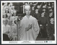 Ann Blyth 1950 Original Photo Our Very Own Graduation Gown