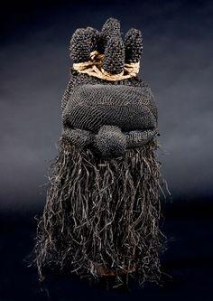 Salampasu Maske, Demokratische Republik Kongo. 48 cm