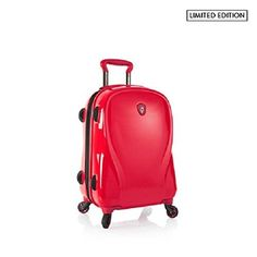 "Heys Xcase 2G Infra Red 21"" Carry-on Spinner Luggage, 100% Polycarbonate"