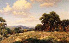 Violet Hills de Robert Julian Onderdonk (1882-1922, United States)