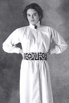 Eastern European Inspired Fashion | Croatian Shirt Costume Pattern