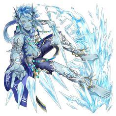 Rudra from Final Fantasy Dimensions II #illustration #artwork #gaming #videogames #gamer