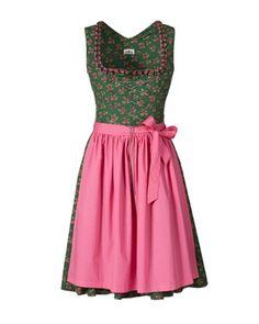 Kurzes Dirndl (grün) von Almsach - Kleider & Dirndl - Bekleidung - Damenmode Online Shop - Frankonia.de