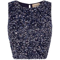LACE&BEADS PICASSO NAVY SEQUIN TOP   LACE&BEADS TOPS ($74) ❤ liked on Polyvore featuring tops, shirts, navy lace top, lace top, lacy tops, sequin embellished top and beaded top Beaded Top, Embellished Top, Sequin Top, Beaded Lace, Sequin Shirt, Navy Lace Top, Navy Blue Crop Top, Blue Lace, Navy Blue Shirts