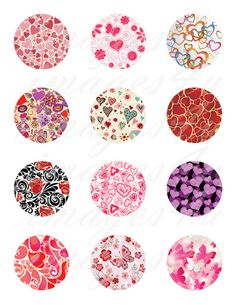 Valentine Patterns printable download images for by images4you