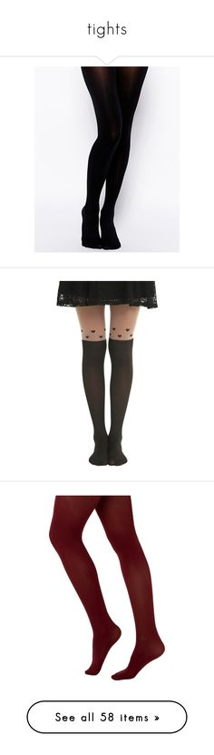 """tights"" by doodlebob3 ❤ liked on Polyvore featuring intimates, hosiery, tights, socks, black, opaque stockings, gipsy, opaque hosiery, elastic stockings and over the knee stockings"