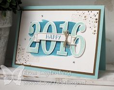 Stampin'Up! met Erna Logtenberg (Love To Stamp): Stampin'Up! nieuwjaarskaartjes