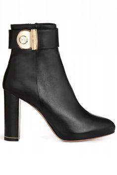 Ferragamo boots, $1,090   - HarpersBAZAAR.com