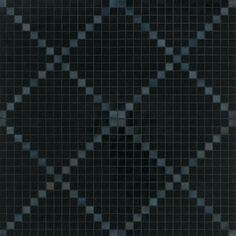 #Bisazza #Decori 2x2 cm Nera | Feinsteinzeug | im Angebot auf #bad39.de 449 Euro/Pckg. | #Mosaik #Bad #Küche