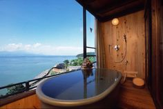 Interested in your own private onsen? Check out kashikiri!   tsunagu Japan