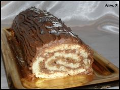 Buche Nutella, Macarons, French Toast, Food And Drink, Pudding, Voici, Parfait, Breakfast