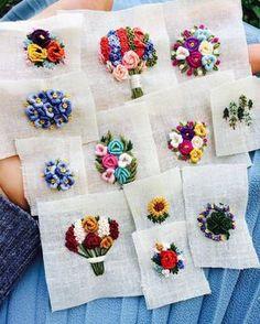@muhibbi2406 #вышивка #вышиваю #вышивкагладью #цветы #embroidery #handembroidery