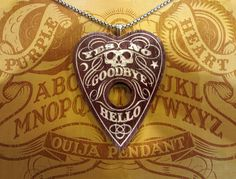 Here's a tutorial to back fill a wood pendant with polymer clay. Picture of Purpleheart Ouija Pendant with Polymer Clay Inlays Ouija, Polymer Clay Projects, Polymer Clay Art, Polymer Clay Jewelry, Clay Charms, Clay Tutorials, Bracelets For Men, Jewelry Crafts, Jewelry Ideas