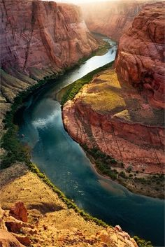 Horseshoe Bend, Colorado River, Grand Canyon (15 Pictures)  I'VE BEEN AND IT'S AMAZING!  EVERYONE SHOULD SEE THE GRAND CANYON!