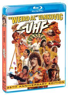 UHF (25th Anniversary Edition) [Blu-ray]: Amazon.ca: Weird Al' Yankovic, Michael Richards, Kevin McCarthy, David Bowe, Fran Drescher, Gedde Watanabe, Victoria Jackson, Jay Levey: DVD
