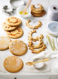 Préparer Noël: des cookies inspiration renne posted byL'Art de la Curiosité