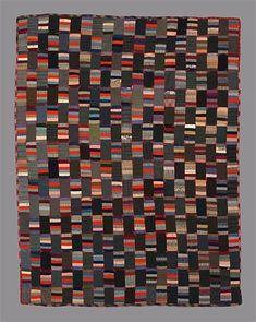 String blocks with alternate grey/black blocks.  Image 1