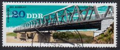 Germany Bridge Stamp.