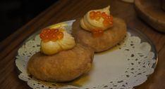 Salmon Roe, Potato Puree, Tasting Menu, Wine List, Sourdough Bread, Bite Size, The Dish, Places To Eat, Italian Recipes