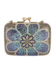 fe9216cc4 Judith Leiber Mini Crystal-Embellished Minaudière Couture Handbags, Purses  And Handbags, Judith Leiber