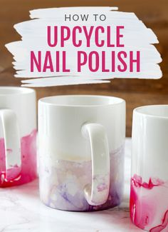 How to Upcycle Your Nail Polish, beauty DIY craft ideas. Shop the video >