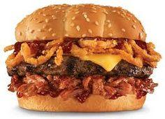 Hardees Restaurant Copycat Recipes: Memphis BBQ Thickburger