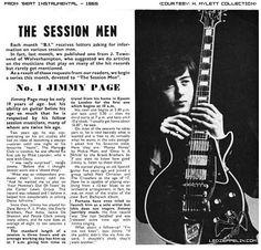 Jimmy Page 1965 press