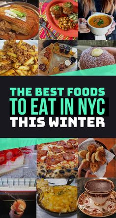 Because January–March are the cheapest months to visit NYC. || 28 NYC Foods That Taste Even Better In The Winter