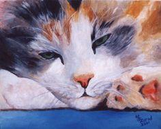 Calico Cat art MJ Zorad 2001